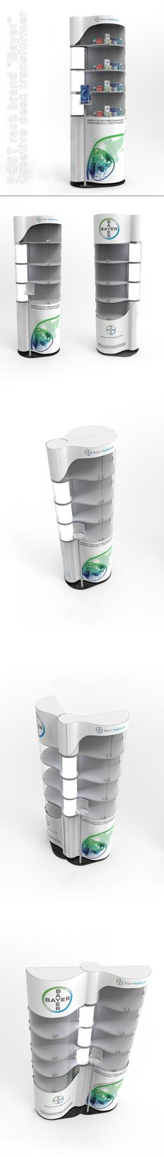 "POSM Design Creative Transforming ""Bayer"""