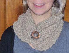 Une semaine à Paris-Forêt: Tricoter - les cols asymétriques pour les grandes Bandeau, Crochet Necklace, Paris, Moment, Knitting, Voici, Easy, Tricot Facile, Cowls