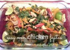 One of our favorite dishes is chicken fajitas. We eat it all the time and even my two toddlers love it! You could easy make this dish on the stove top very quickly, but you have to watch it closely. Also when you cook it on the stove, it loses that crispy, smokey flavor …