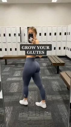 Summer Body Workouts, Full Body Gym Workout, Slim Waist Workout, Gym Workout Videos, Gym Workout For Beginners, At Home Workouts, Butt Workouts, Glute Exercises, Beginner Gym Workouts