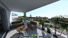 3D Virtual Tour // Visite virtuelle 3D Apartment with patio : real outside photography integrated in the visit Appartement avec terrasse : vue réelle intégrée ---> @Gizmo.immo  ★ www.gizmo.immo ★  #3D #Immobilier #Deco #Mobilier  #Design #Decointerior #RealEstate #DecoInterior #Home #Terrasse #Patio #VR #VisiteVirtuelle