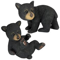 Design Toscano Roly-Poly Bear Cub Statues - Set of 2 * Read more at the image link. #GardenDecor