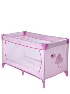 Travel Cot - Pink, http://www.very.co.uk/ladybird-travel-cot-pink/1188856961.prd