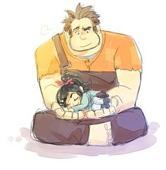 Comfortable hand by on DeviantArt Disney Pixar, Disney Nerd, Disney Memes, Disney Fan Art, Wreck It Ralph Movie, Vanellope Von Schweetz, Cute Disney Wallpaper, Amazing Drawings, Fantastic Art