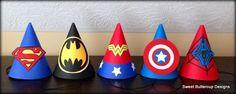 Superhero Party Hats