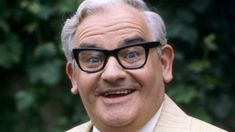 In the 1960s Barker moved into television comedy, performing sketches on The Frost Report and meeting there his future comedy partner Ronnie Corbett. Description from bbc.co.uk. I searched for this on bing.com/images