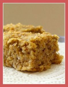 Super Banana Oat Bars (Healthy Sweet Snack!) - Go Dairy Free***a bunch of kids ate these up too. They were really good and super easy.