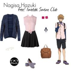 Nagisa Hazuki Closplay - Free! I watobi Swim Club / Eternal Summer