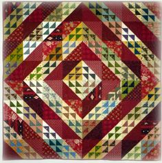 Doodlebugs and Rosebuds Quilts: Through the Barn Door