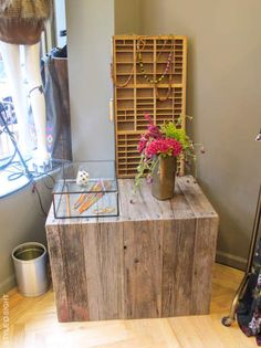 retail display- made out of pallets??