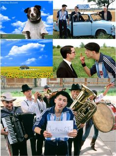 """Eugene Hutz from Gogol Bordello in """"Everything is Illuminated"""" A fantastic book, a great movie. I thought Mr. Hutz did a great job in the film."""