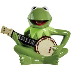 Disney The Muppets Kermit the Frog Banjo Ceramic Teapot by Westland Giftware