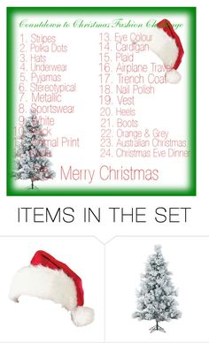 """""""🎄🎅Christmas Countdown🎅🎄"""" by ashieluvsyou ❤ liked on Polyvore featuring art"""
