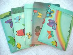 Handmade upcycled bubble mailers, padded envelopes, recycled shipping supplies by PeachPod, $20.00