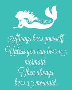 Mermaid art, art print, mermaid print, mermaid wall art, little kid art print, mermaid quote, print educational print little girl by twinkledreamsdesign on Etsy https://www.etsy.com/listing/192689132/mermaid-art-art-print-mermaid-print