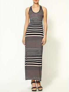 Loveappella Mixed Stripe Maxi   Piperlime