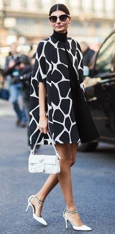 Giovanna Battaglia during Paris Fashion Week, Spring 2013