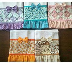 Princess towels for Pumpkin Dish Towels, Hand Towels, Tea Towels, Sewing Hacks, Sewing Crafts, Sewing Projects, Towel Dress, Towel Crafts, Decorative Towels
