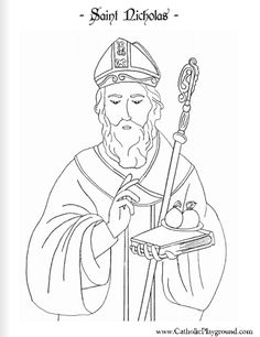 St. Peter's The Vatican in Rome Catholic Coloring Page