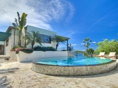 Oceanside Luxury at the Frenchman's Cay Estate in the British Virgin Islands #architecture #design #luxury #home #pool #beach #tropical