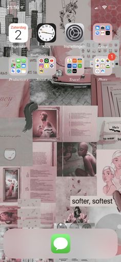 My homescreen, i cleared it up ☺️. - I p h o n e - Phone Wallpaper Decor, Iphone Wallpaper, Iphone App Layout, Phone Organization, Organizing, Xmax, Iphone Phone, Homescreen, Pretty Little Liars