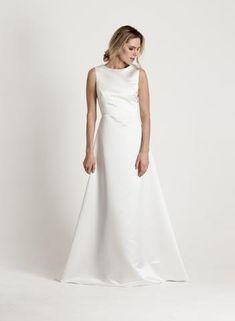 Bridal collection via katriniskanen.com Finnish design by Katri Niskanen Bridal Collection, One Shoulder Wedding Dress, Wedding Dresses, Party, Clothes, Design, Fashion, Bride Dresses, Outfits
