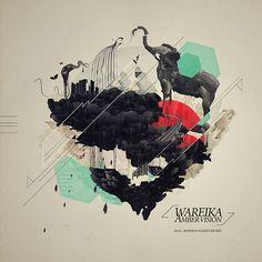 WAREIKA - AMBER VISION /COVER ART #illustration #inspiration #design