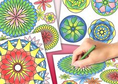 Who doesn't love to color? Check out the Spirograph Coloring Book!  #spirograph http://www.originalspirograph.com/coloring_book.html