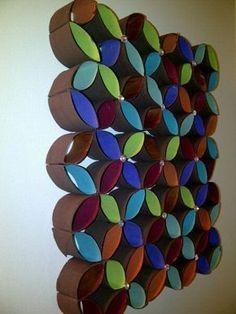 30 Artesanatos com rolinhos de papel higiênico - Reciclar e Decorar - Blog de Decoração, Reciclagem e Artesanato                                                                                                                                                                                 Mais