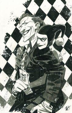 Joker & Harley Quinn •Matteo Scalera
