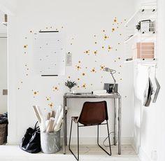 Konfetti Mini Dots Mix 130 Stk. Wandsticker Punkte von Urban ART Berlin | Wandtattoo Wall ART | Wandsticker auf DaWanda.com
