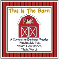 Inspired by The House That Jack Built, this original book supports early readers with predictable, repetitive text and sight words. Fits in with spring, farm or animal themes.