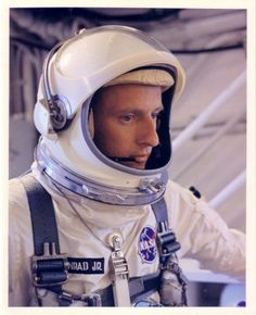 "Charles ""Pete"" Conrad, Jr. American naval officer, astronaut and engineer, and the third person to walk on the Moon during the Apollo 12 mission. Commanded the Gemini 11 mission and the Skylab 2 mission. Cousin through birthfather's maternal lineage."