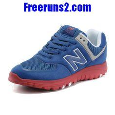 9821757743c0 New Balance MS77BR retro Hommes Chaussures royal Bleu rouge