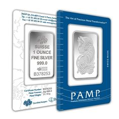 1 oz PAMP Suisse Lady Fortuna Silver Bar .999 Fine (In Assay) | Bullion Exchanges