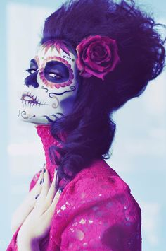 Day of the dead...gorgeousness.