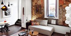 Las paredes de obra vista encajan con múltiples estilos decorativos y le dan a cualquier estancia un encanto especial.  #Decoración #Interiorismo