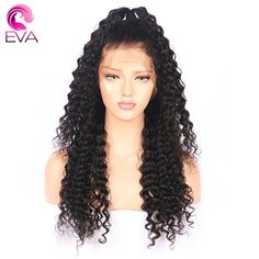 Pre Plucked Brazilian Remy Full Lace Water Wave Human Hair Wigs