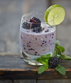 Start Your Day with Vegan Blackberry Mojito Overnight Oats