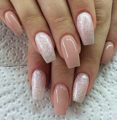 There are three kinds of fake nails which all come from the family of plastics. Acrylic nails are a liquid and powder mix. They are mixed in front of you and then they are brushed onto your nails and shaped. These nails are air dried. Nail Designs 2015, Cute Nail Designs, Light Pink Nail Designs, Solar Nail Designs, Neutral Nail Designs, Fall Designs, Elegant Nail Designs, French Manicure Designs, Fingernail Designs