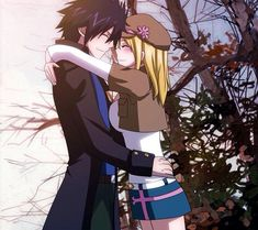 I prefer NaLu but. Gray and Lucy it's ok too.[Natsu and Lucy is still better] Fairy Tail Lucy, Art Fairy Tail, Image Fairy Tail, Fairy Tail Ships, Fairy Tail Anime, Fairytail, Nalu, Jerza, Gray Et Lucy