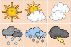 Bildergebnis für ideenreise - Everything About Kindergarten Learning Weather, Weather Activities For Kids, Weather Crafts, Fun Learning, Portfolio Kindergarten, Kindergarten Age, Kindergarten Activities, Preschool, Literacy Games