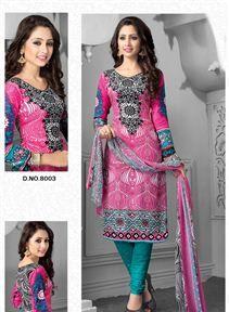 Lovely Straight Cut Cotton Salwar Kameez