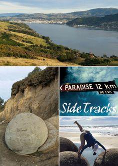 Auf Tour - Südinsel Neuseelands, südöstliche Küste Dunedin und Moeraki Boulders
