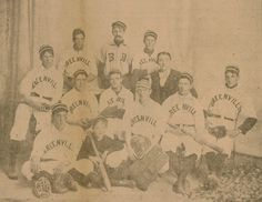 An 1890s baseball team from Greenville, Ohio.