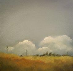 "oil on canvas  20"" x 20"""