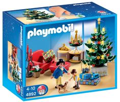 Playmobil - Habitación Navideña (4892): Amazon.es: Juguetes y juegos