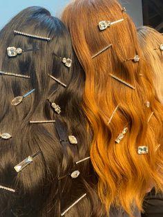 Ethnic Hairstyles, Baddie Hairstyles, Girl Hairstyles, Hair Up Styles, Natural Hair Styles, Hair Inspo, Hair Inspiration, Dream Hair, Hair Jewelry