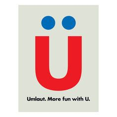 Umlaut, $39, now featured on Fab.