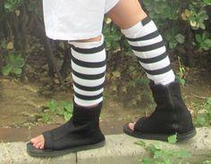 Cosplay costumes Pair of Naruto manga Sasuke Uchiha 2 matching legprotector by Victoria's Deco, http://www.amazon.com/dp/B007VLG7YO/ref=cm_sw_r_pi_dp_mZT3pb1VGAZD5